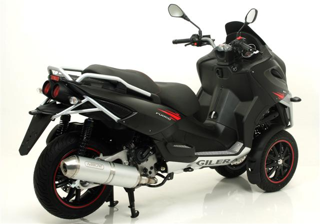 arrow reflex scooter exhaust system piaggio mp3 400 lt 2007 11. Black Bedroom Furniture Sets. Home Design Ideas