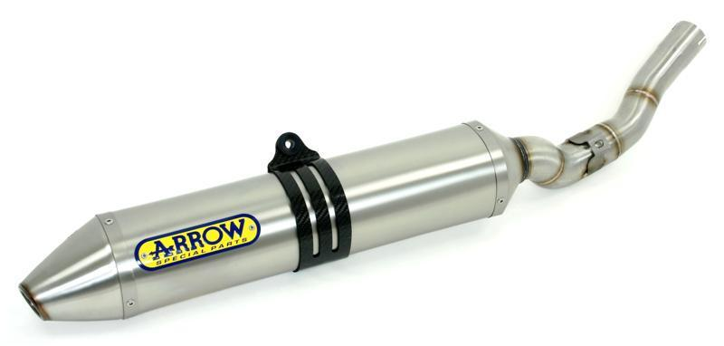 Arrow Thunder Titanium 94dB Race can HUSQVARNA TC250 2008