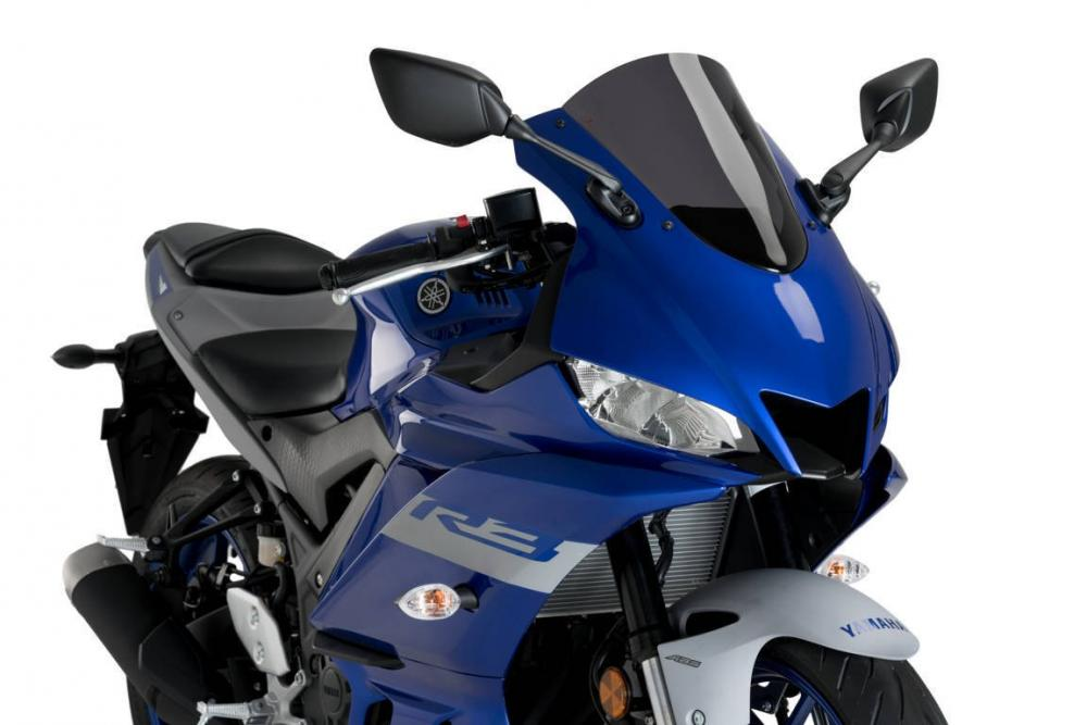 PUIG R Race Competition Screen for Yamaha YZF-R3 2019-20