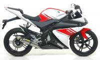 Arrow Full System with Alloy Silencer Yamaha YZF125R 2008-13