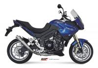 MiVV X-Cone Inox Low Mount TRIUMPH TIGER 1050 2007-13