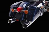 IXIL IRONHEAD HC2-1C Dual Chrome or Black Silencers Indian Chief  2015-19