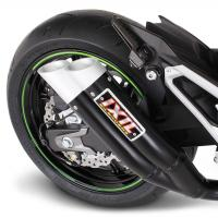 Dual Slip On Exhaust For  Kawasaki Ninja Abs
