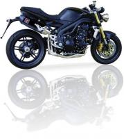 IXIL Hyperlow Xtrem Short Black TRIUMPH SPEED TRIPLE 1050 2005-06