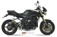 MiVV GP Carbon Low Mount  TRIUMPH SPEED TRIPLE 1050 2005-06