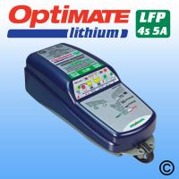 OptiMate 6 Lithium 5 Amp 12V Battery Charger / Optimiser
