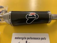 Termignoni Carbon STR Conical Silencer -  Suzuki GSXR 600 2008-10