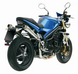 MiVV X-Cone Inox High TRIUMPH SPEED TRIPLE 1050 2005-06