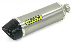 Arrow Thunder Titanium/Carby Silencer HONDA CB1000R 2008-17
