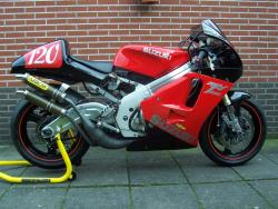 Arrow System/Race Carbon can SUZUKI RGV250 1991-96