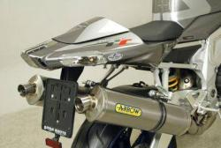 Arrow System Road Tit cans APRILIA RSV1000R 2004-09