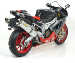 Arrow System Road Aluminium cans APRILIA Tuono 1000 06-11