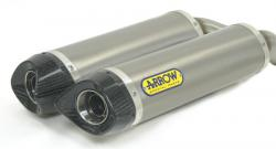 Arrow System Road Titanium/Carbon Cans Suzuki GSXR1000 2007-08
