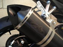 G&G Single Sport Stainless SUZUKI GSXR1000 2007-08