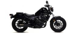 ARROW REBEL DARK SILENCER HONDA CMX500 REBEL - 2017