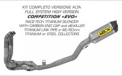 "Arrow COMPETITION ""EVO"" Full System High Version - Honda CBR1000RR 2014-16"