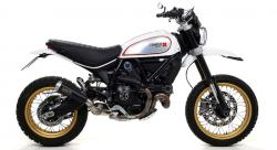 Arrow Dark Pro Race Cone Ducati Scrambler Desert Sled - 2017