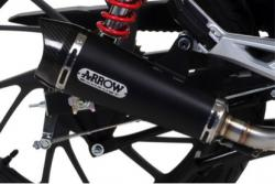 "Arrow Full System with X-Kone ""Dark"" Silencer - HONDA  CB125F 2015-17"