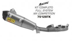 Arrow Full Titanium System & 94dB Can YAMAHA YZ250F 2014