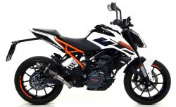 Arrow GP2 Silencer KTM Duke 125 - 2017-19