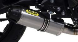 Arrow Jet Race  Black / Titanium System - YAMAHA XSR700 2016-17