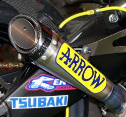 Arrow Mini Twins Evo Full System Kawasaki EX650R 2005-11