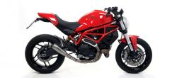 Arrow Pro-Race Nichrom Silencer Ducati Monster 797  2017-18