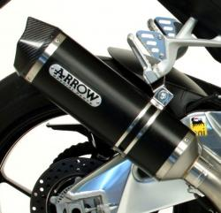 Arrow Racetech Road Darkline Silencer APRILIA RSV4 2009-15