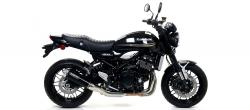 "Arrow Rebel ""Dark"" Silencer / Full System - KAWASAKI Z900 RS 2017-18"