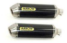 Arrow Road Carbon cans YAMAHA MT-03 2005-14