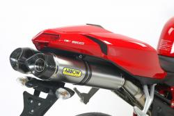 Arrow Road Titanium Carbon Cans DUCATI 1098 / 1098S 2007-08