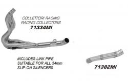 Arrow S/S Race Collector/Decat Pipes SUZUKI GSXR 600 2008-10