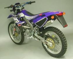 Arrow System HIGH Titanium can DERBI DRD Edition SM50 2005-06