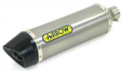 Arrow Full System Road Thunder Tit/CF Silencer -  YAMAHA YZFR6 2006-07