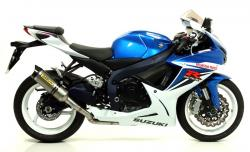 "Arrow COMPETITION ""FULL TITANIUM""  System   - SUZUKI GSXR750 2011-16"
