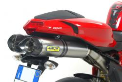 Arrow Thunder Silencers -  DUCATI 848 2008-10