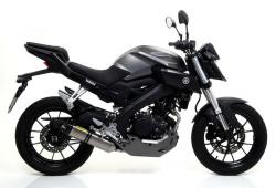 Arrow Thunder Silencer including Stainless System - YAMAHA MT-125 2014-17