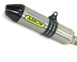 Arrow Titanium / Carbon 94dB Race Can YAMAHA YZ450F 2010-13