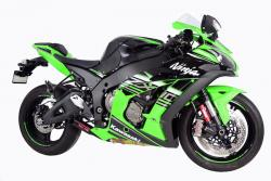 Coffman Shorty Silencer including De Cat -  KAWASAKI ZX-10R 2016-17