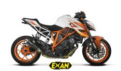 Exan X-GP Silencer KTM SUPERDUKE 1290 R - 2017-18