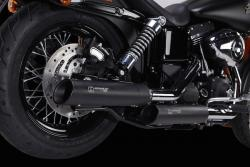 IRONHEAD HC1-3B Black Silencers - BMW R NINE T 2017