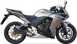 IXIL Black Hyperlow XL Silencer - HONDA CBR500R 2013-15