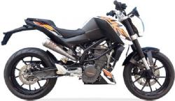 IXIL Dual Inox Underseat Slip on Silencers - KTM Duke 390 2013-16