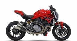 IXIL Dual Slashed Cone Xtrem Silencer - Ducati Monster 1200 2017-20