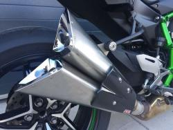 IXIL Dual Slashed Cone Xtrem Slip on Silencer - Kawasaki H2 2015-18
