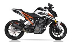 IXIL IXRACE M9 BLACK SILENCER - KTM Duke 125  2017-19