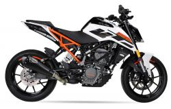 IXIL RC1 HEXACONE XTREM BLACK SILENCER - KTM Duke 125 2017-18