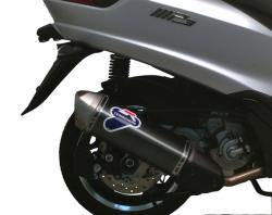 Termignoni Relevance Scooter Silencer - PIAGGIO MP3 300 (300LT) 2008-16