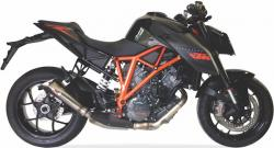 IXIL X55 Slash Cut Cone Silencer - KTM SUPERDUKE 1290 2014-18