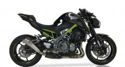 IXIL X55 Slash Cut Cone Silencer - Kawasaki Z900 2017-18'